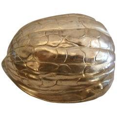 F.B. Rogers Silverplate Nut
