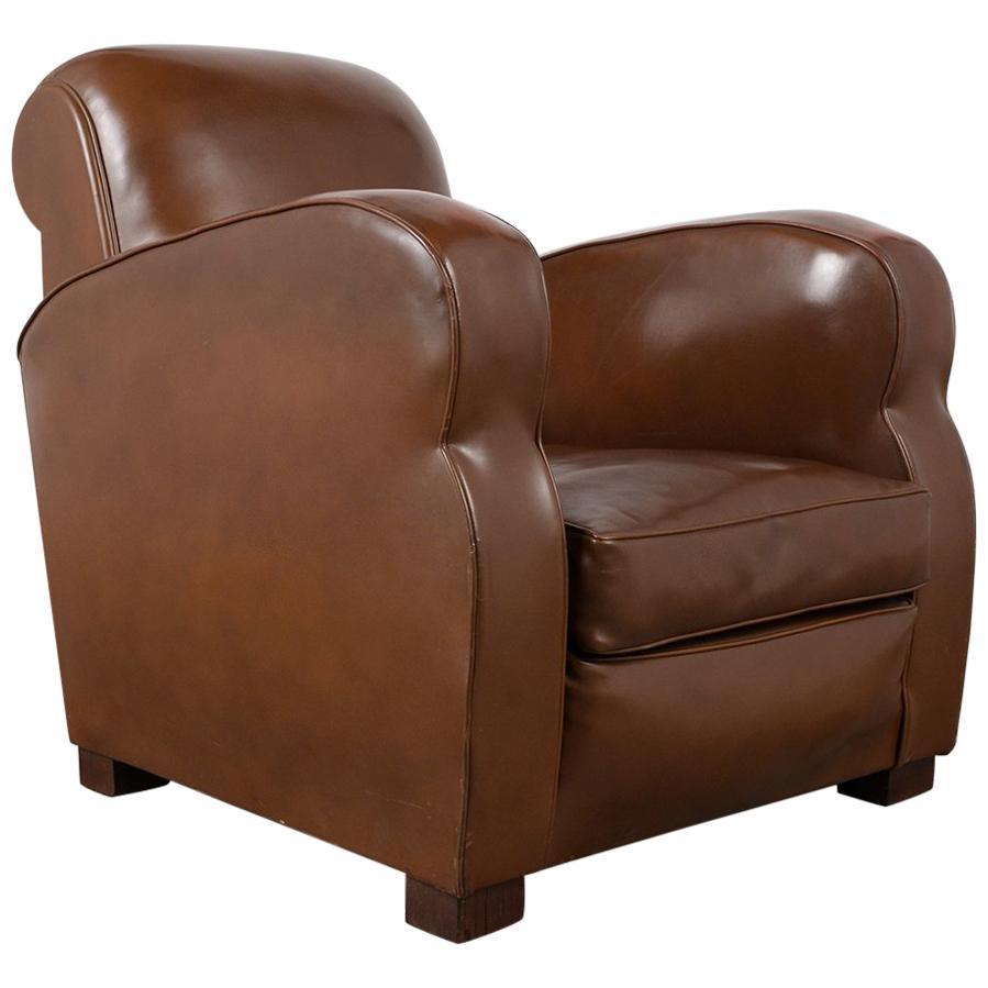 Vinyl Club Chair