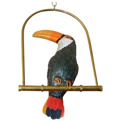 Signed FEDERICO Leather Toucan