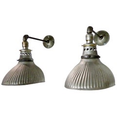 1920s Mercury X-Ray Wall Sconces by Curtis Lighting