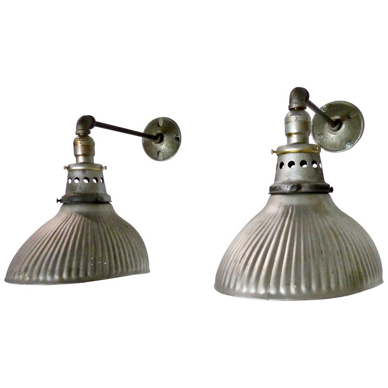 1920s Mercury X-Ray Wall Sconces by Curtis Lighting For Sale