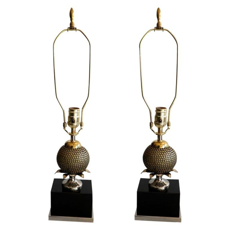 .Pair of  Table Lamps by Maison Charles