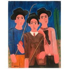 Mid-Century Modern Painting Kenneth Kilstrom New York School