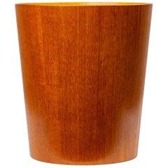Rainbow Wood Products Teak Wastebasket by Martin Åberg