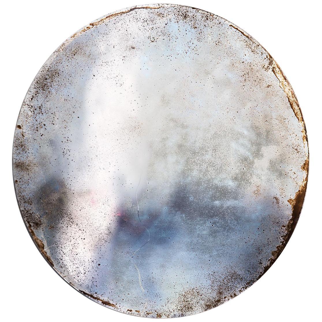 Unique Handmade Grisaille Alice Mirror by Slow Design
