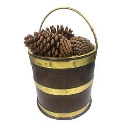 George III Brass Bound Bucket