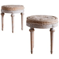 18th Century Swedish Gustavian Stools