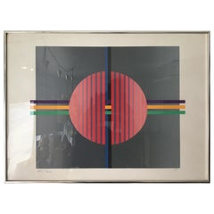 Conceptual Abstract Print, Contemporary Limited Edition Print, Geometric Print