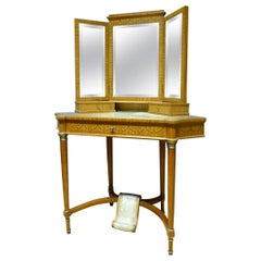 20th Century French Louis XVI Style Dressing Table