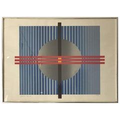 Conceptual Abstract Print, Contemporary, Limited Edition Print, by Adonai Yanai
