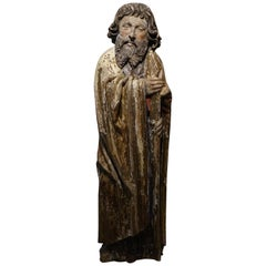 Sculpture of Saint Jacques the Minor, Burgundy, France, 15th Century