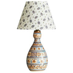 Vintage Ceramic Table Lamp from France