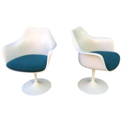 Saarinen for Knoll Tulip Armchairs