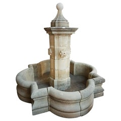 Large French Central Fountain