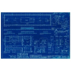 Mies van der Rohe Blueprint, 4000 N. Charles Baltimore, Md, Roof and Penthouse