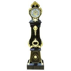 Louis XV Gilted Bronze Original Movement by Antoine Pelletier Floor Clock