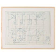 Mies van der Rohe Blueprint, One Illinois Center 111 E. Wacker Chicago, 1968
