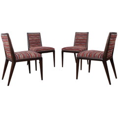 Set of Four Dining Chair by T.H. Robsjohn-Gibbings for Widdicomb