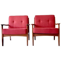 Rare 1960s Easy-Chairs 2 from Eugen Schmidt Soloform, Germany