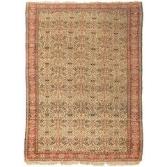 Antique Persian Senneh Rug, circa 1900