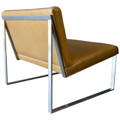 B2 Lounge Chair by Fabien Baron in Saddle Leather