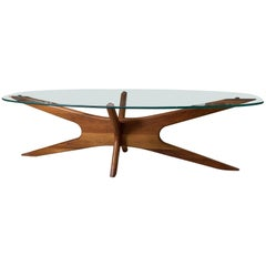 Elongated Jacks Coffee Table by Adrian Pearsall for Craft Associates