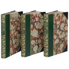"Books, Richard F. Burton ""Pilgrimage to El-Medinah and Meccah"" Leather Bound Set"