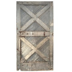 Monumental 19th Century American Barn Door