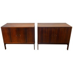 Two Diminutive Rosewood Credenza by Ib Kofod-Larsen for Faarup Møbelfabrik