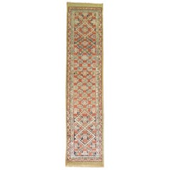 Early 20th Century Antique Tribal Persian Serab Traditional Runner
