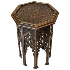 19th Century Moorish Side Table