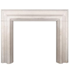 Ryan & Smith Large Stone Bolection Fireplace