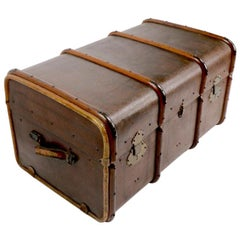 Antique Trunk Attributed to Drew and Sons