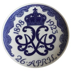 Royal Copenhagen Commemorative Plate from 1923 RC-CM210