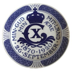 Royal Copenhagen Commemorative Plate from 1920 RC-CM195