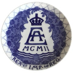Royal Copenhagen Commemorative Plate from 1902 RC-CM42