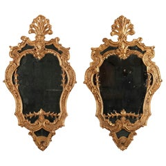 19th Century Giltwood Mirrors in Venetian Style