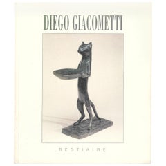 DIEGO GIACOMETTI, Bestiaire catalogue - 20th century animal sculpture