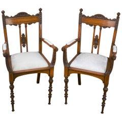 Superb Quality Victorian Mahogany Chairs