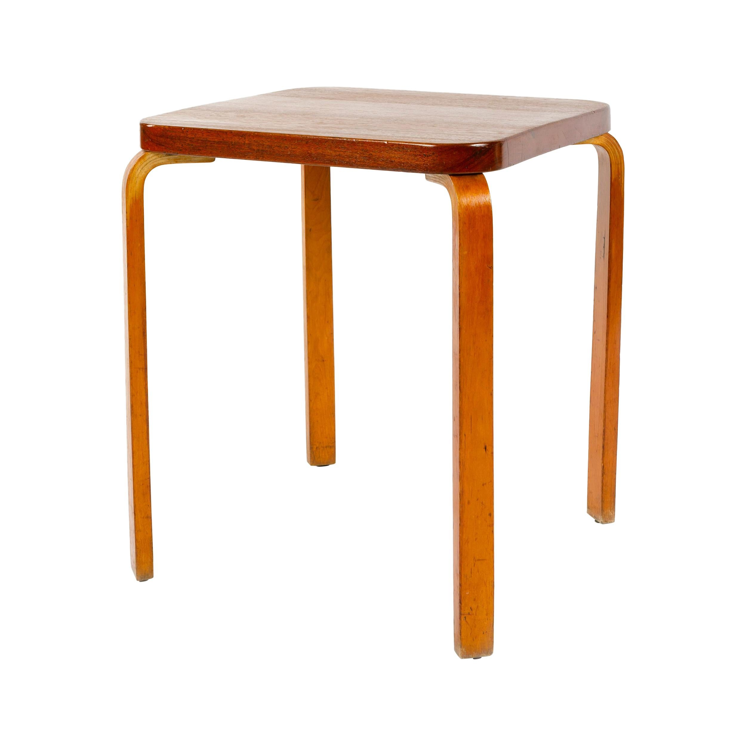 "1930s Finnish ""World's Fair"" Table by Alvar Aalto for Artek"