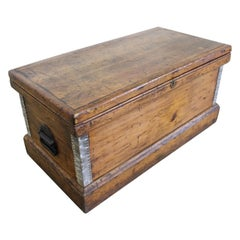 Antique Primitive Blanket Chest or Trunk