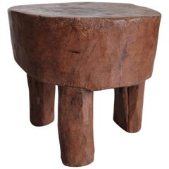 Primitive Low Stool from the Senufo tribe of Ivory Coast