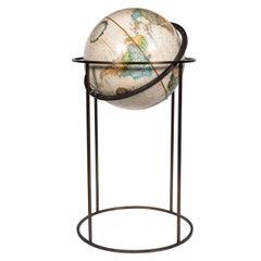World Globe in the Style of Paul McCobb