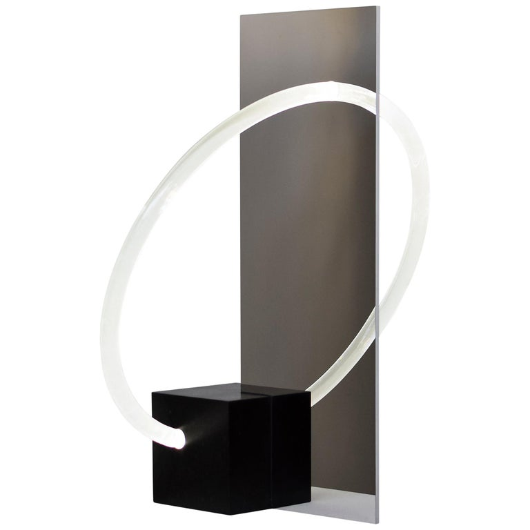 Contemporary Sculptural Lamp and Mirror 'Elusive 01' For Sale