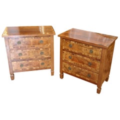 Pair of Italian Chair Side Chests