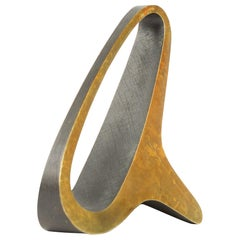 Brass Bookend by Carl Aubock