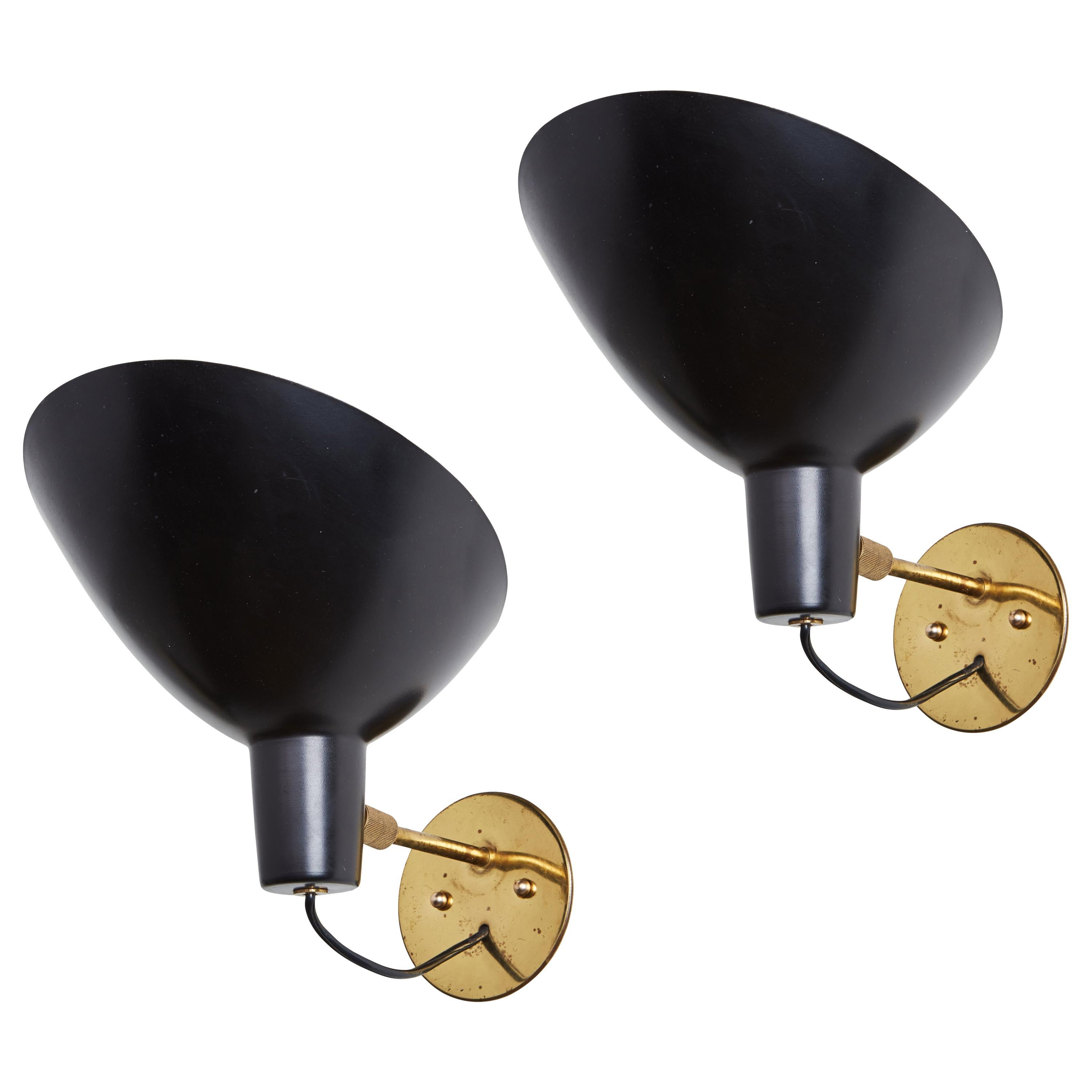 Pair of Sconces by Vittoriano Vigano Sconces for Arteluce