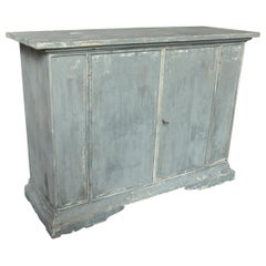 19th Century Painted Italian Buffet