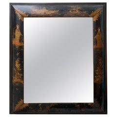18th-19th Century Dutch Chinoiserie Mirror