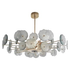 Green Flowers Chandelier by Fabio Ltd